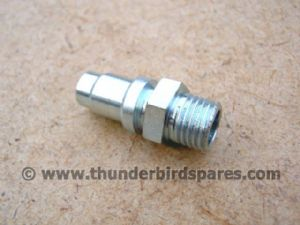 Clutch Cable Abutment, Triumph Unit 1963-67*, BSF, 57-1644.